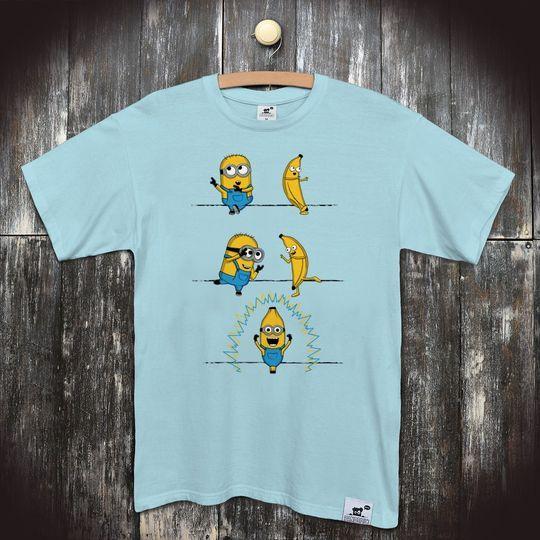 65c3700f949 Pánské seriálové tričko Mimoni  Mimoňova proměna