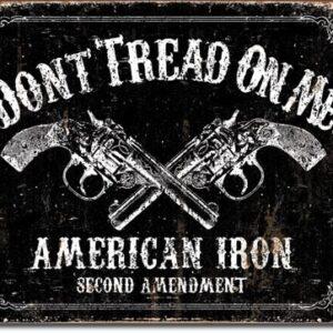 Posters Plechová cedule DTOM - american iron