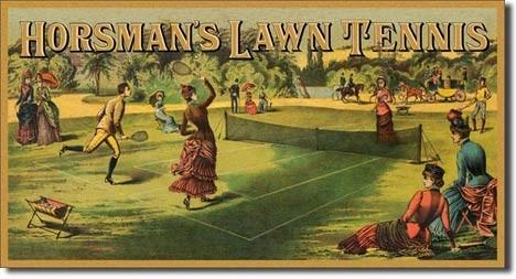 Posters Plechová cedule HORSMAN'S LAWN TENNIS