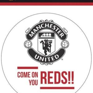 Posters Samolepka MAN UNITED – come on - Posters