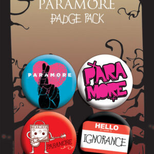 Posters Placka PARAMORE - pack 2 - Posters