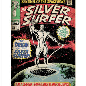Posters Reprodukce Silver Surfer