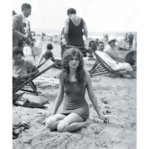 Posters Reprodukce Baigneuse sur la plage