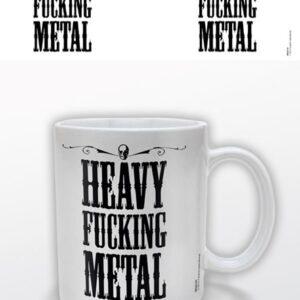 Posters Hrnek Heavy Fucking Metal - Posters