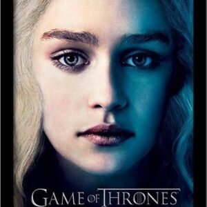 Posters GAME OF THRONES 3 - daenery rám s plexisklem - Posters