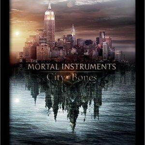 Posters MORTAL INSTRUMENTS : MĚSTO Z KOSTÍ – teaser rám s plexisklem - Posters