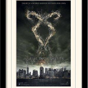 Posters MORTAL INSTRUMENTS : MĚSTO Z KOSTÍ – rune rám s plexisklem - Posters
