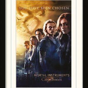 Posters MORTAL INSTRUMENTS : MĚSTO Z KOSTÍ – chosen rám s plexisklem - Posters