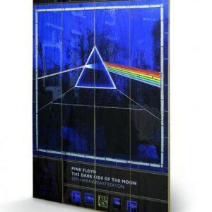 Posters Obraz na dřevě - Pink Floyd - Dark Side of the Moon- 30th Anniversary