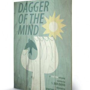 Posters Obraz na dřevě - STAR TREK - dagger of the mind