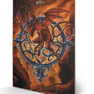 Posters Obraz na dřevě - ALCHEMY - astrolabeus