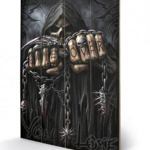 Posters Obraz na dřevě - Spiral - Game Over - Reaper