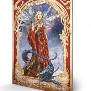 Posters Obraz na dřevě - ALCHEMY - starfall on avalon