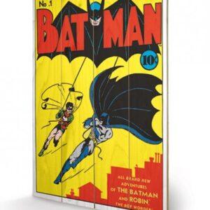 Posters Obraz na dřevě - DC Comics - Batman No.1