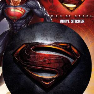 Posters Samolepka SUPERMAN MAN OF STEEL - logo - Posters