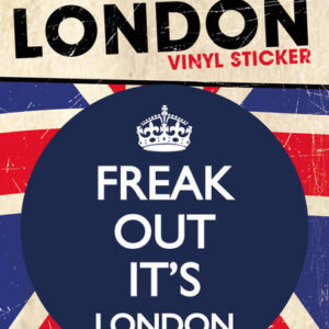 Posters Samolepka LONDON - freak out - Posters