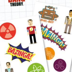 Posters Tetování BIG BANG THEORY - bazinga - Posters