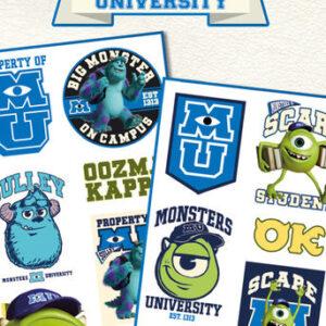 Posters Tetování MONSTERS UNIVERSITY - mike & sulley - Posters