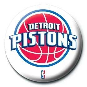 Posters Placka NBA - detroit pistons logo - Posters