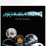 Posters Placka METAL GEAR RISING - Posters