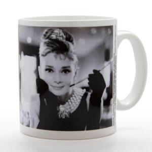 Posters Hrnek Audrey Hepburn - B&W - Posters
