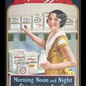 Posters VINTAGE KELLOGGS - morning