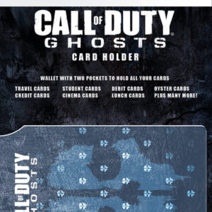 Posters CALL OF DUTY GHOSTS - logo Pouzdro na karty - Posters