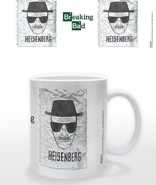 Posters Hrnek Breaking Bad (Perníkový táta) - Heisenberg Wanted - Posters