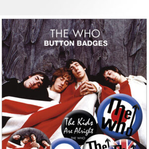 Posters Placka THE WHO - lyrics and logos - Posters
