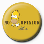 Posters Placka THE SIMPSONS - homer no opinion - Posters
