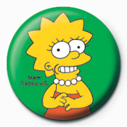 Posters Placka THE SIMPSONS - lisa - Posters