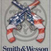 Posters Plechová cedule S&W - SMITH & WESSON - American Born
