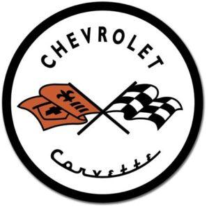Posters Plechová cedule CORVETTE 1953 CHEVY - Chevrolet logo