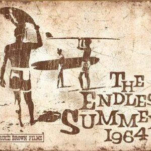 Posters Plechová cedule Endless Summer Retro