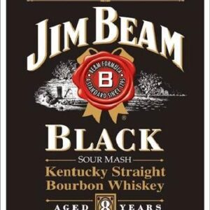 Posters Plechová cedule JIM BEAM - Black Label