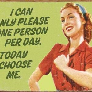 Posters Plechová cedule EPHEMERA - I Choose Me