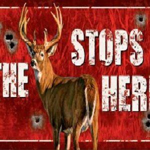 Posters Plechová cedule Buck Stops Here