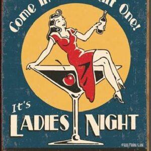 Posters Plechová cedule MOORE - Ladies Night