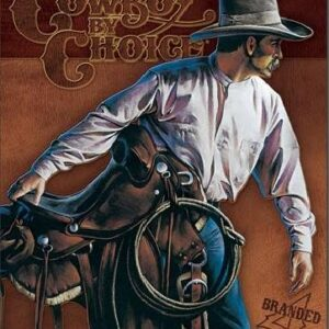 Posters Plechová cedule COWBOY BY CHOICE - Beginning Trail