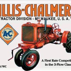 Posters Plechová cedule ALLIS CHALMERS - MODEL WC traktor
