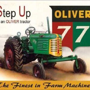 Posters Plechová cedule OLIVER - 77 traktor