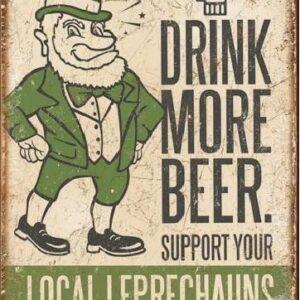 Posters Plechová cedule PIVO - Pij víc