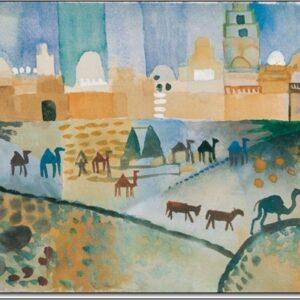 Posters Reprodukce Macke August - Kairouan I