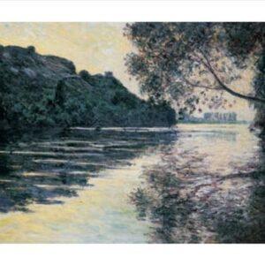 Posters Reprodukce Claude Monet - Slunce nad Seinou