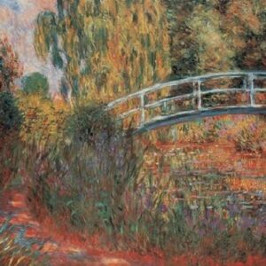 Posters Reprodukce Claude Monet - Japonský most