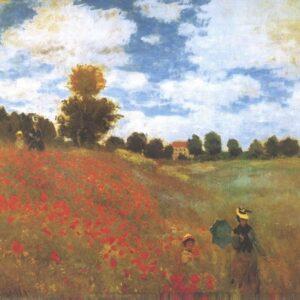 Posters Reprodukce Claude Monet - Vlčí mák