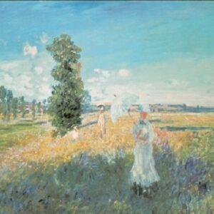 Posters Reprodukce Claude Monet - Procházka