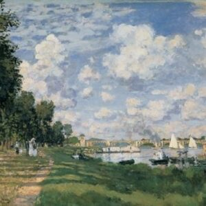Posters Reprodukce Claude Monet - Seina s Arhenteuil