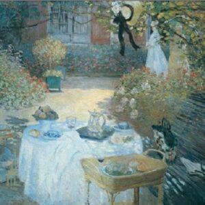 Posters Reprodukce Claude Monet - Oběd v zahradě