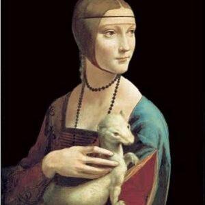 Posters Reprodukce Leonardo Da Vinci - Dáma s hranostajem